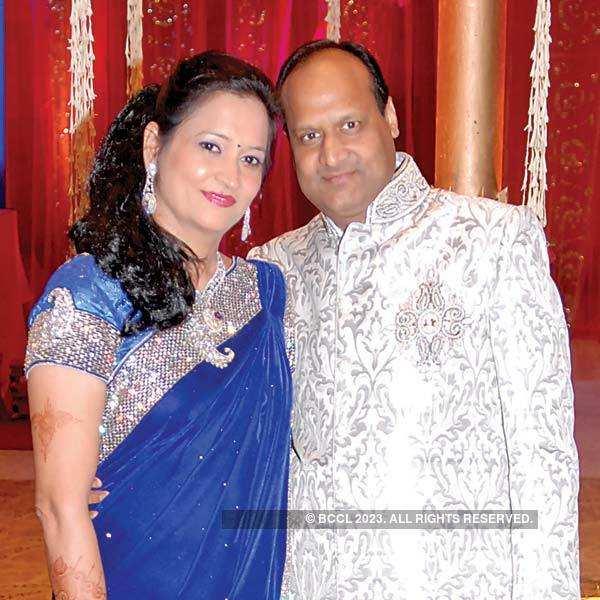 Ankush, Sheena's sangeet ceremony