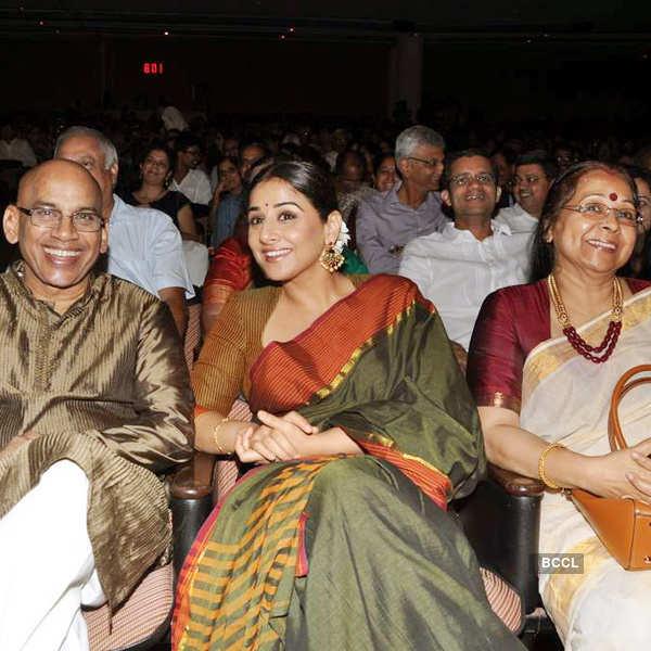 Vidya at classical music concert