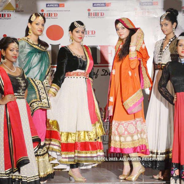 INIFD's fashion show