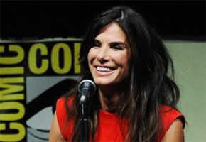 Sandra Bullock attends 1st Comic-Con