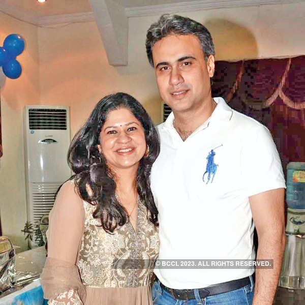 Vihaan's first birthday celebrations