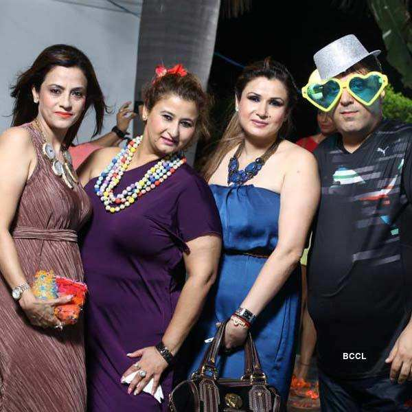 Meenakshi Dutt's pool party
