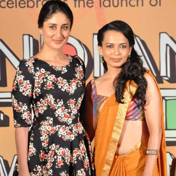 Kareena launches Rujuta's DVD