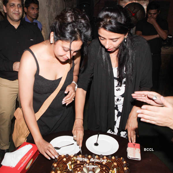 Vaishali Thakkar's b'day party