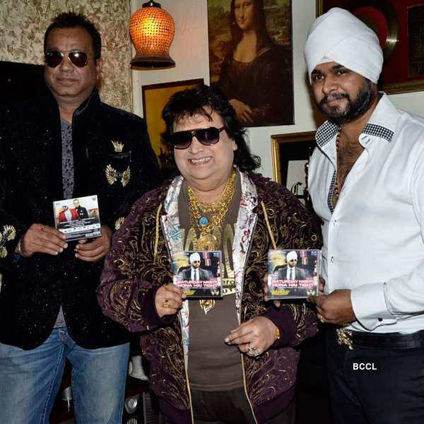 Bappi Lahiri unveils Saturday Night
