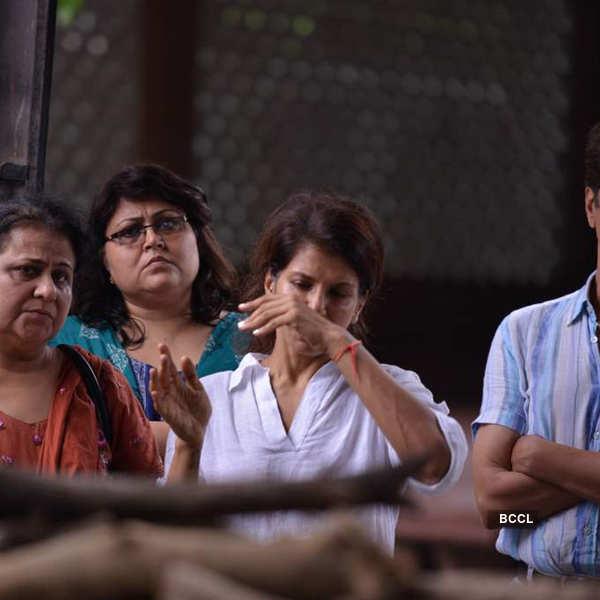 Jagdish Raj's funeral