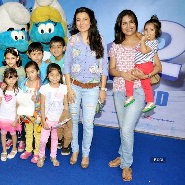 Smurfs 2: Mumbai Premiere