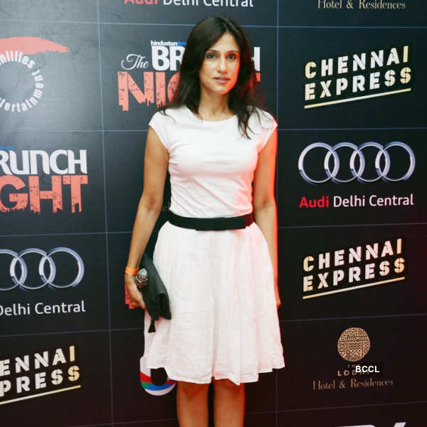 SRK, Dips @ Brunch Night party
