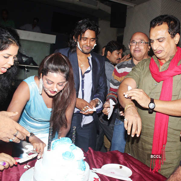 Anjana Singh's birthday party