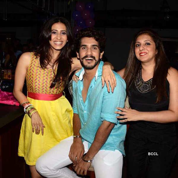 Pratyusha Banerjee's b'day party