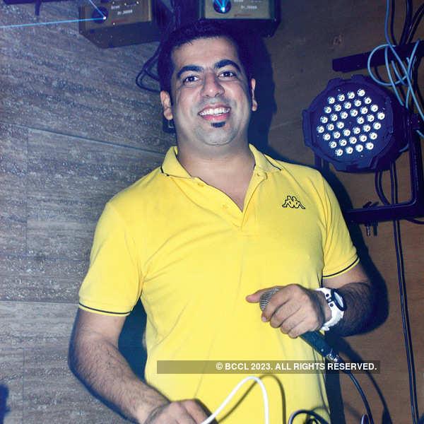 DJ Nash plays @ Lalit Ashok