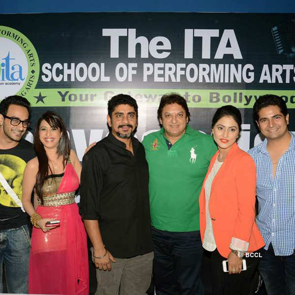 TV stars at acting institute