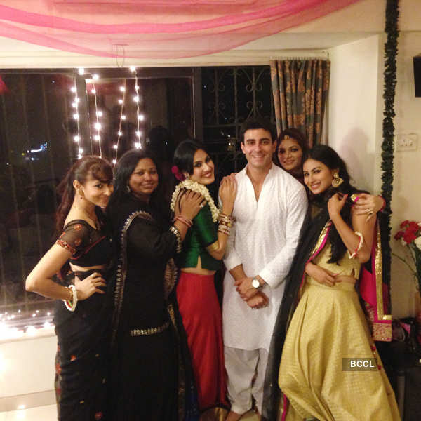 Nikhil-Suhana Sinha's post Eid party