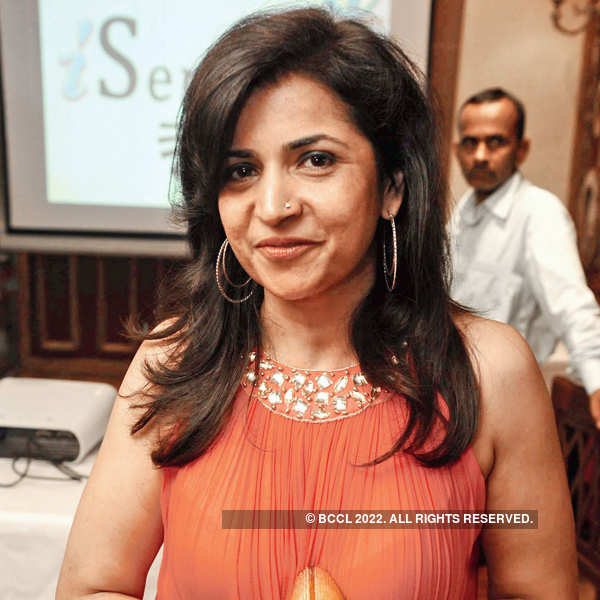 Neelam Pratap Rudy hosts a lunch