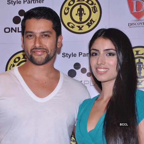 Celebs @ Gold's Gym relaunch