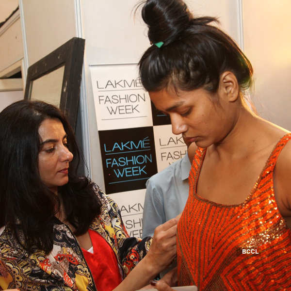 LFW 2013 fitting sessions