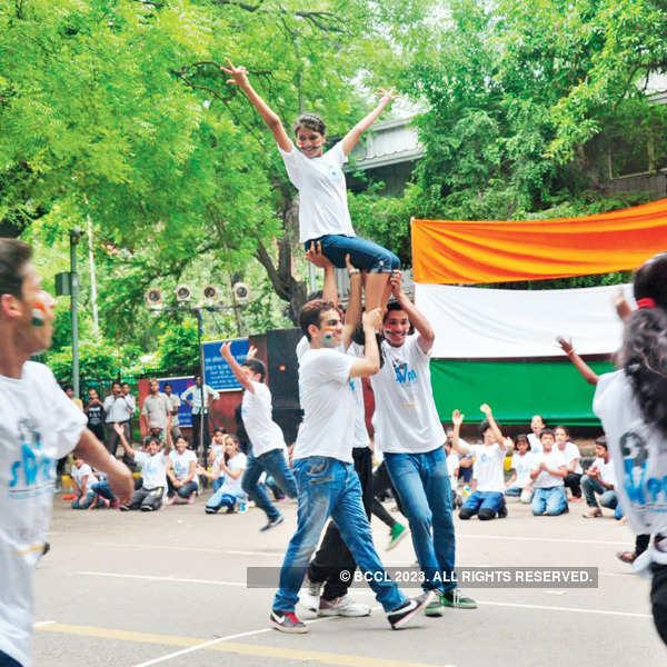 Flash mob @ Jantar Mantar
