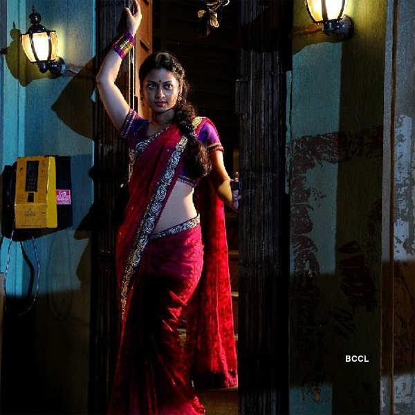 Pooja Umashankar in a still from the Tamil film Vidiyum ...
