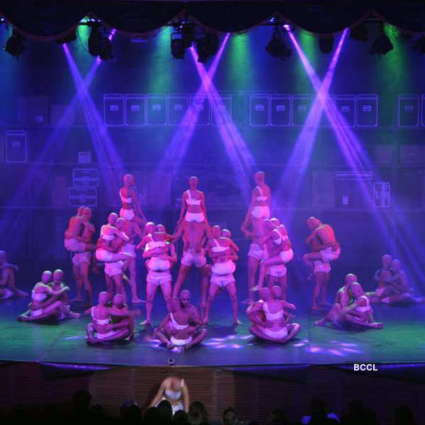 Celebs watch Shiamak's show