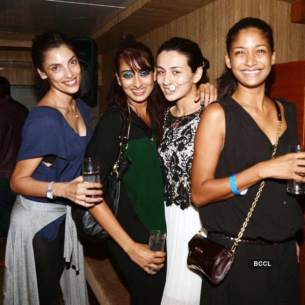 Little Shilpa's LFW post show party