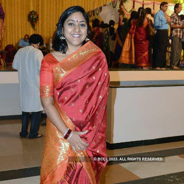 Celebs at Arjun & Haritha's wedding