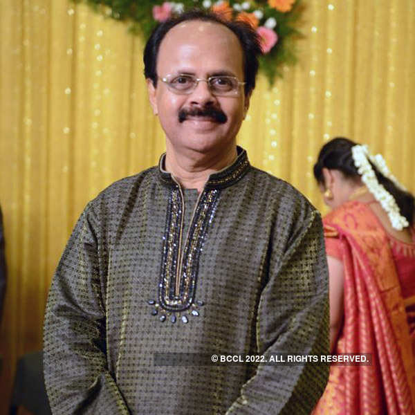 Celebs at Arjun & Haritha's wedding