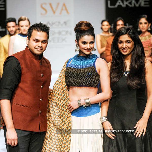 LFW'3: Sonam & Paras Modi