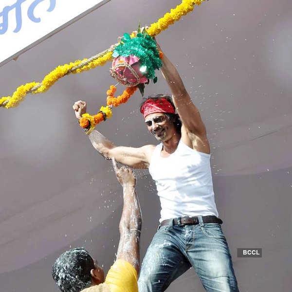 Stars @ Dahi Handi event