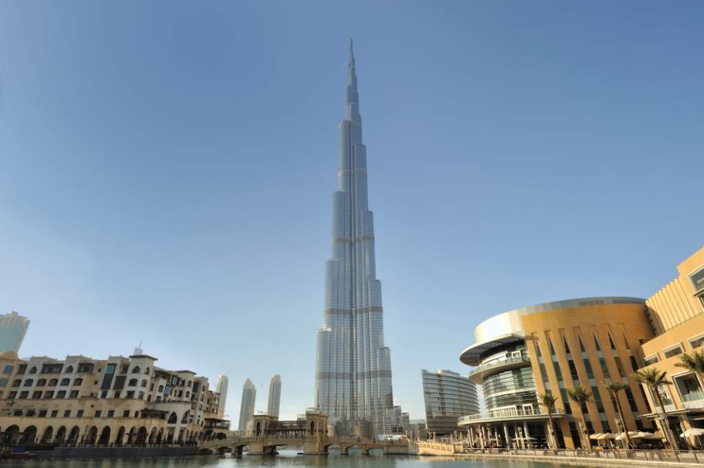 Take in the view at the world's tallest building