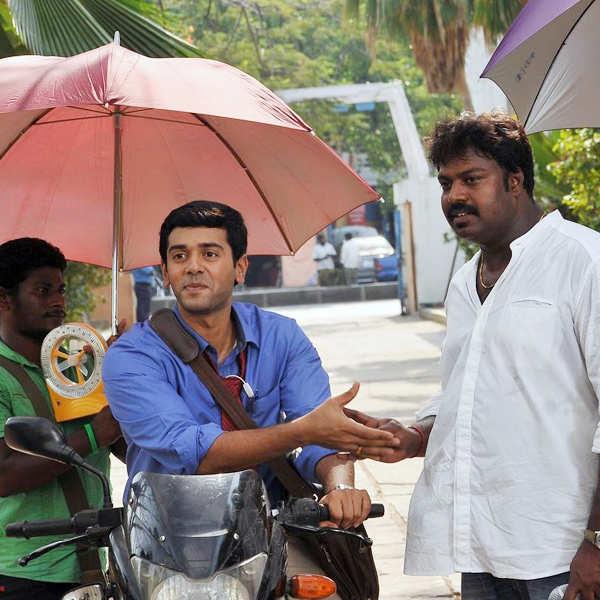 Idharkuthane Aasai... : On the sets