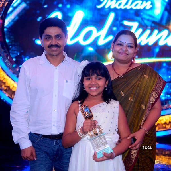 Indian Idol Junior season 1 winner Anjana Padmanabhan