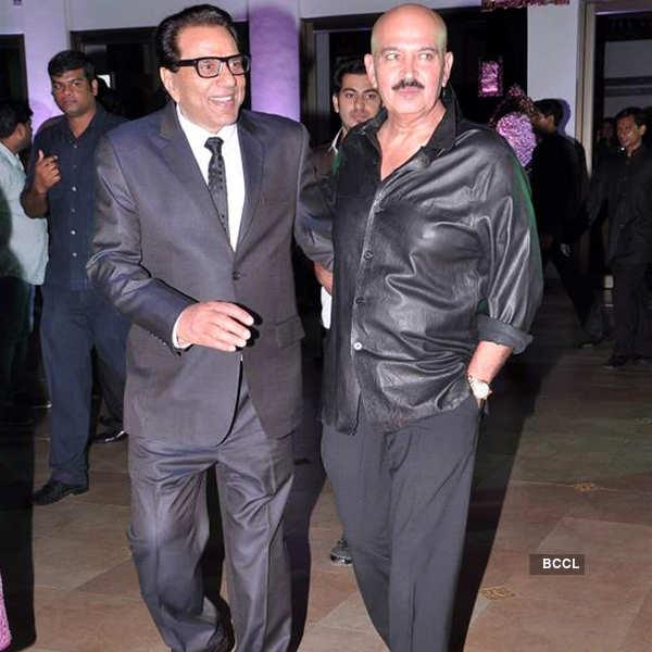 Rakesh Roshan's b'day party