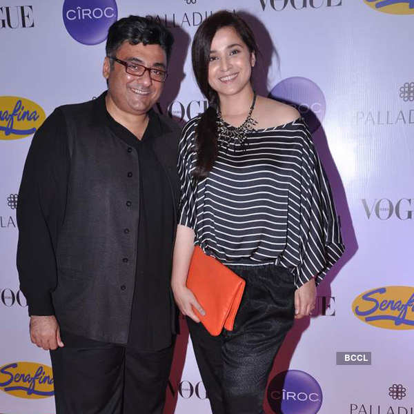 Celebs @ Vogue fashion night out