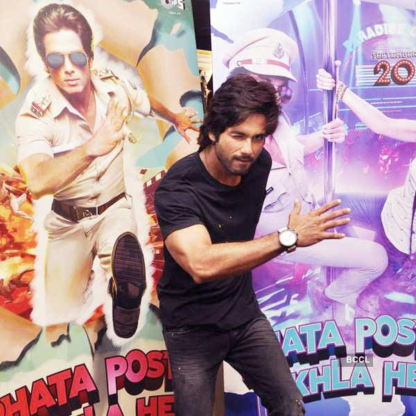 Shahid promotes Phata Poster Nikla Hero