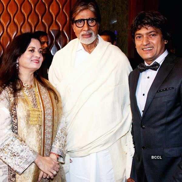 Adesh Shrivastava's b'day party
