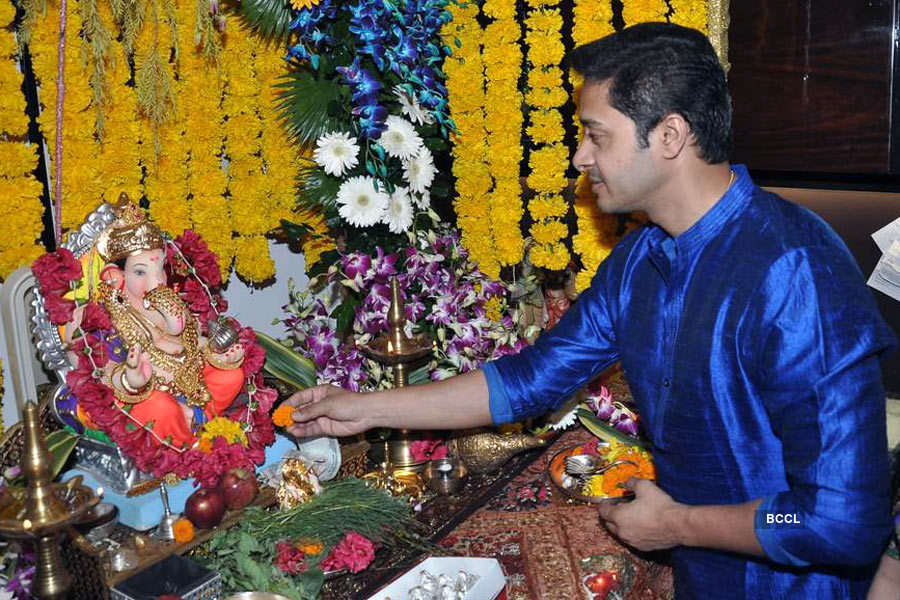 Stars welcome Ganpati Bappa