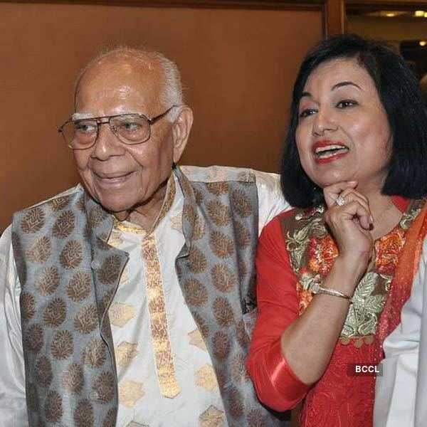Ram Jethmalani's 90th b'day party