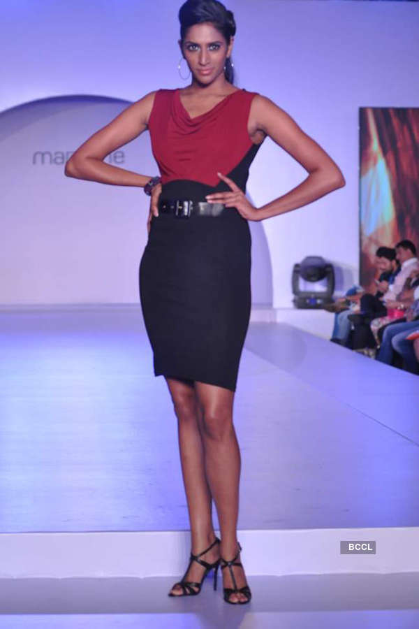 Shazahn Padamsee walks for Madame