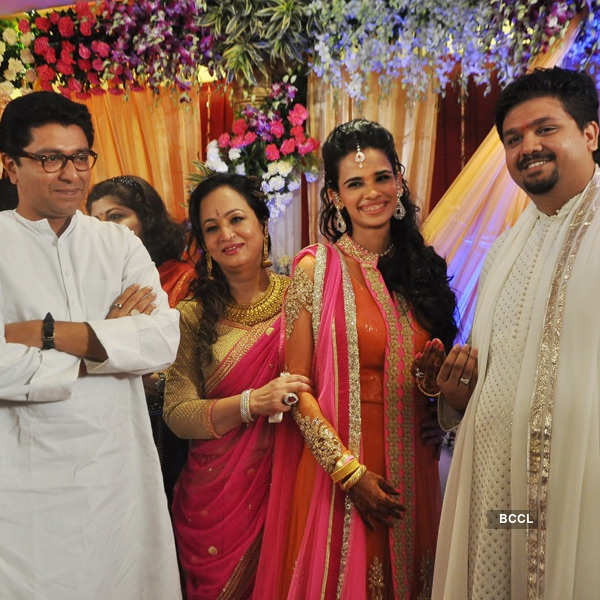 Rahul & Aditi's engagement ceremony