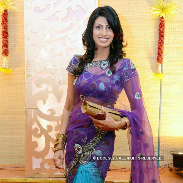 L Balaji - Priya Thalur's reception party