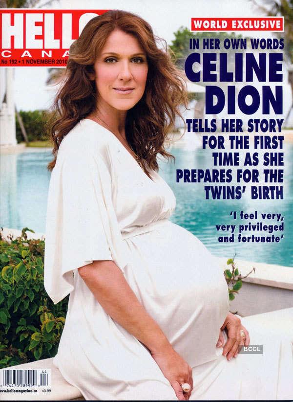 Pregnant stars on magazine covers