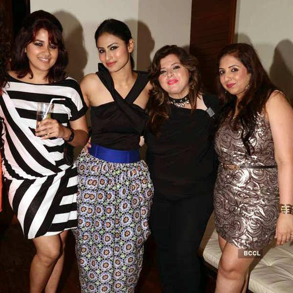 TV actress Munisha Khatwani's b'day party