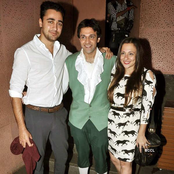 Celebs @ Vedant Malik's play