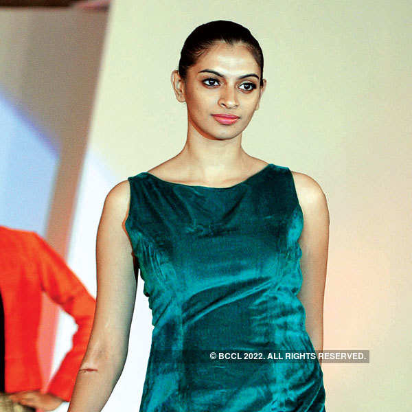 Celebs at a fashion show in Kochi