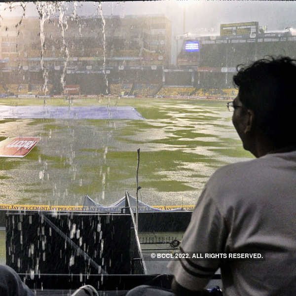 CL T20: Both games washed out