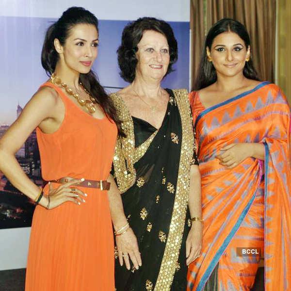 Vidya, Malaika @ festival launch
