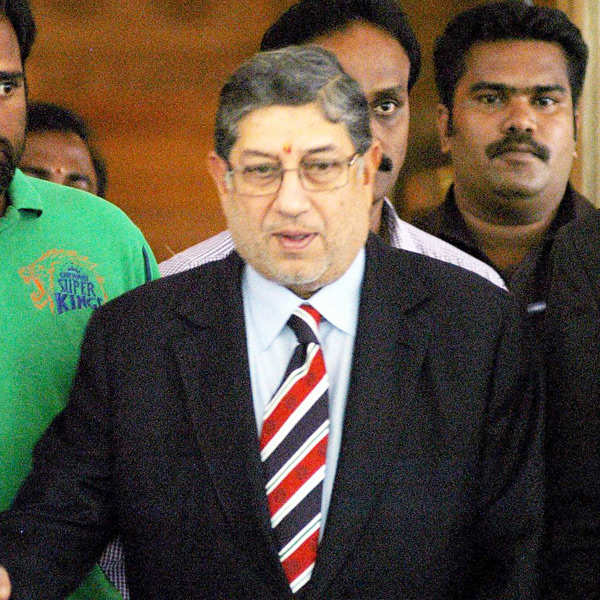 N Srinivasan elected unopposed