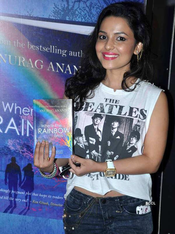 Chitrashi at book launch