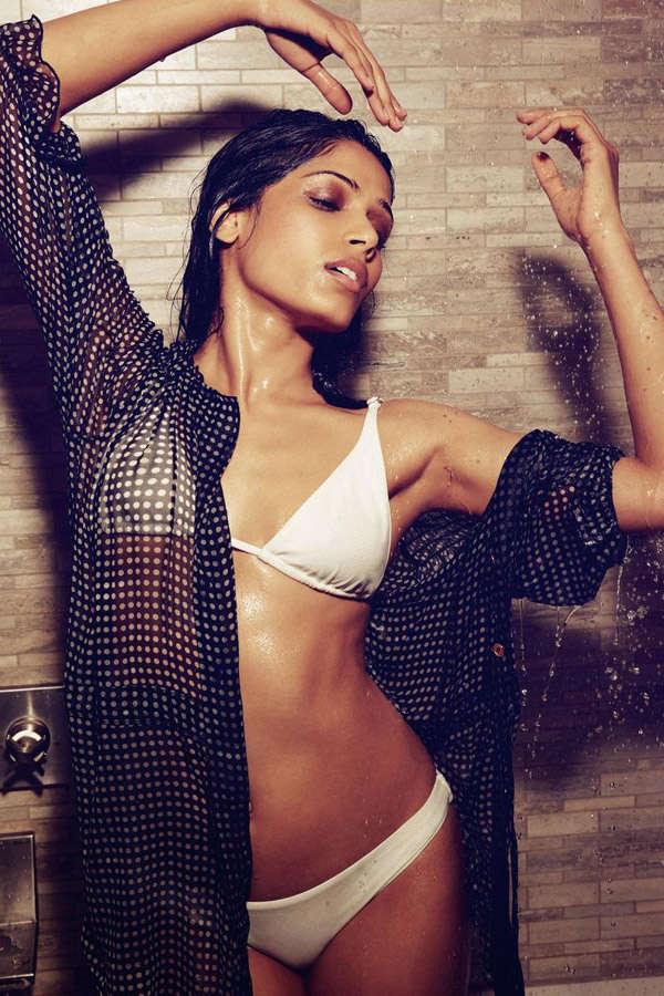 TV actress Shweta Salve flaunts her hot bod in a bikini photoshoot for Maxim.