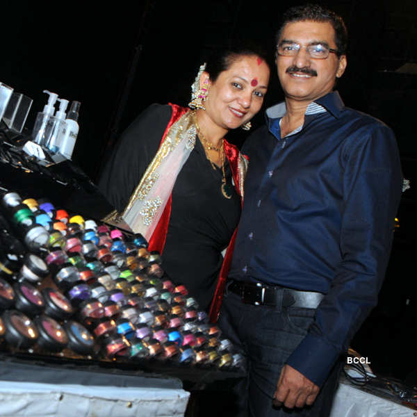 Bharat & Dorris's make-up seminar
